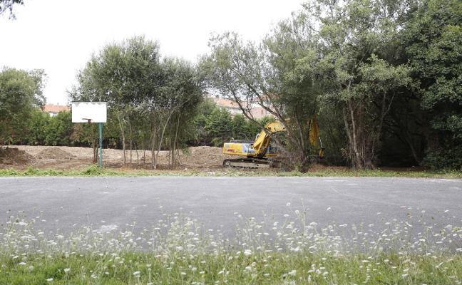 El Ayuntamiento convierte en parque el suelo que utilizaba el Chas como pista y guardería