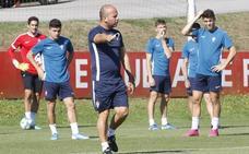El Sporting se encierra para el debut en El Molinón
