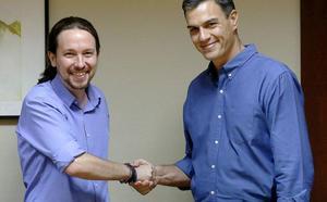 El PSOE rechaza la nueva oferta de Unidas Podemos para gobernar en coalición
