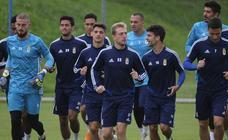 Entrenamiento del Real Oviedo (20/08/19)
