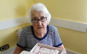La valdesana Margarita Díaz celebra su cien cumpleaños