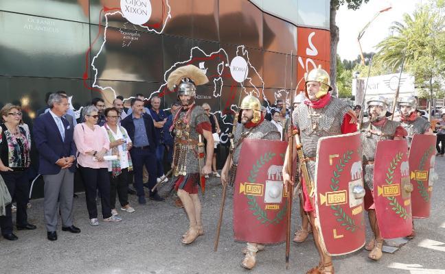 El Gijón romano atrajo más de 68.000 visitantes al pabellón de la Feria