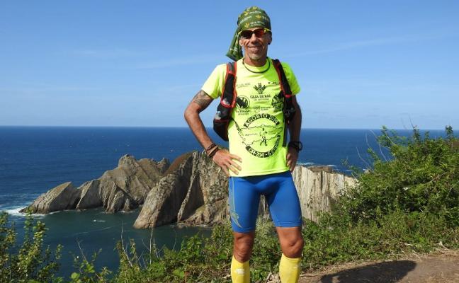 Pedro Cuenca llega hoy a Avilés en la tercera etapa