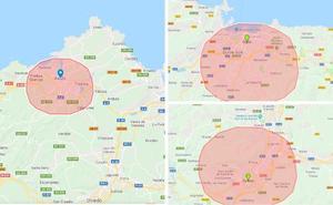 Así sería el incendio de Gran Canaria de haberse producido en Gijón, Oviedo o Avilés