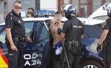 Dispositivo policial por un robo en la playa de San Lorenzo