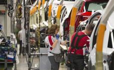La caída de la venta de automóviles lastra las exportaciones españolas