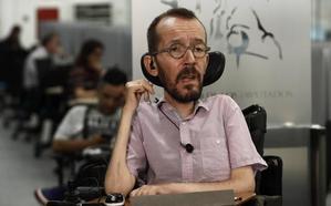 Pablo Echenique: «Sería irresponsable y carente de sentido ir a una repetición electoral»