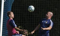 Entrenamiento del Real Oviedo (21-08-2019)