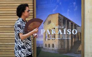 Asturias rozará este viernes los 35 grados