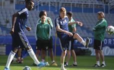 Entrenamiento del Real Oviedo (22/08/19)