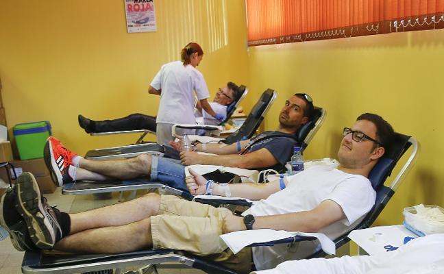 Récord de sangre en la Feria, con 2.528 donaciones