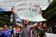 Protestas por los incendios en el Amazonas