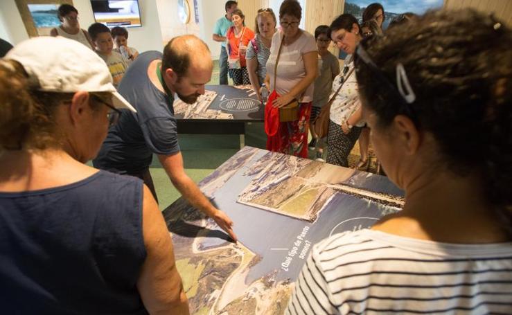 Primera visita al nuevo museo del puerto