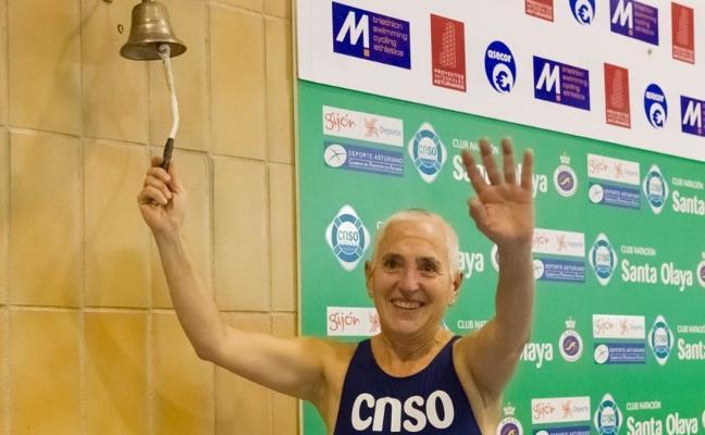 Muere Ángeles Carvajal, la nadadora «que siempre tenía una sonrisa»