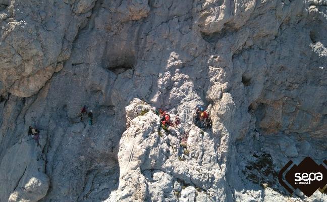 Tres rescates en Picos de Europa en solo seis horas