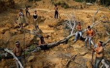 Las imágenes del Amazonas que conmocionan al mundo