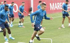 Entrenamiento del Sporting (24/08/19)