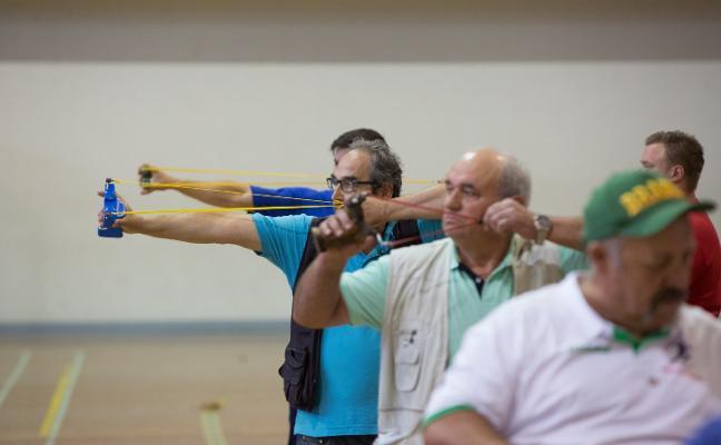 San Agustín se disputa en tiro con gomeru, tiro con arco y ajedrez