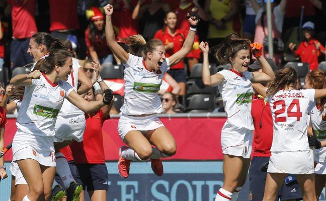 María López hace historia de nuevo con la Selección tras el bronce continental