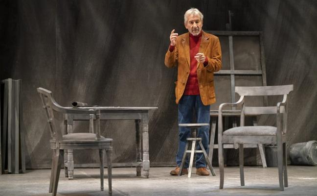 Sacristán regresa al Palacio Valdés con 'Señora de rojo sobre fondo gris'