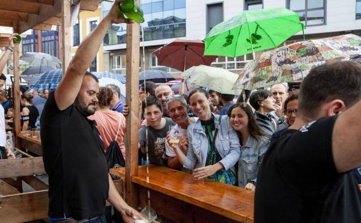 Doble galardón para Vigón en la Fiesta de la Sidra Natural de Gijón