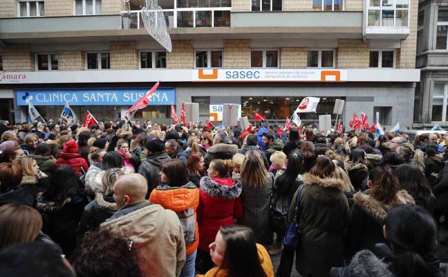 Más de 53.000 trabajadores en Asturias, afectados por el parón en los convenios