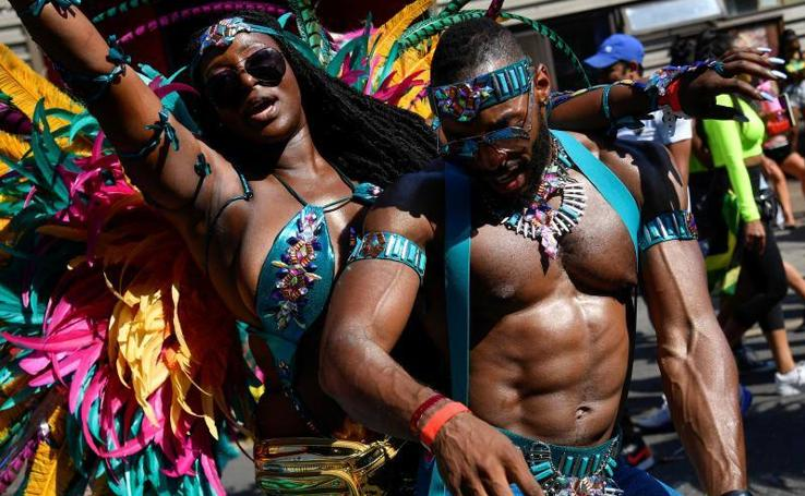 El exuberante carnaval de Notting Hill