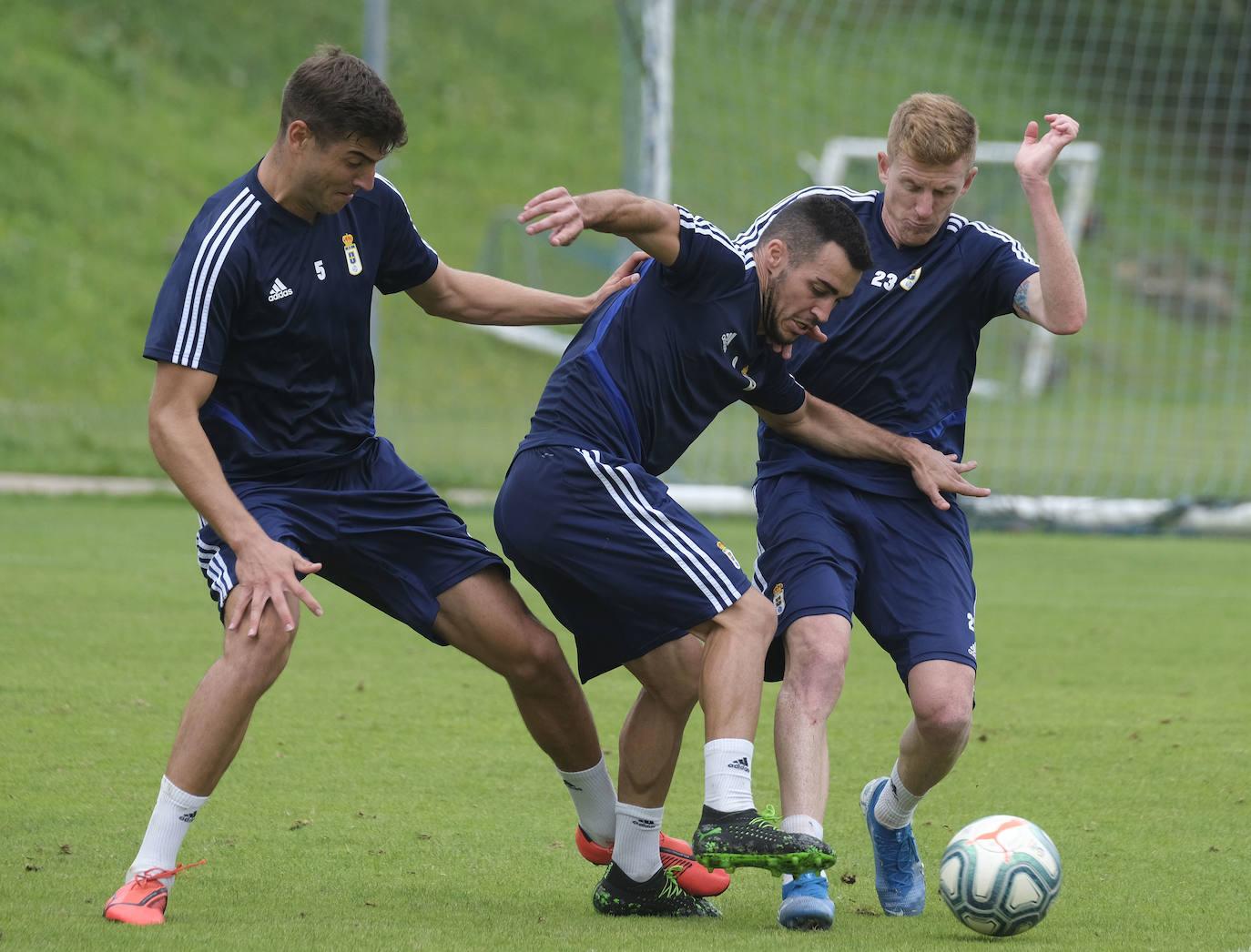 Entrenamiento del Real Oviedo (28/08/2019)