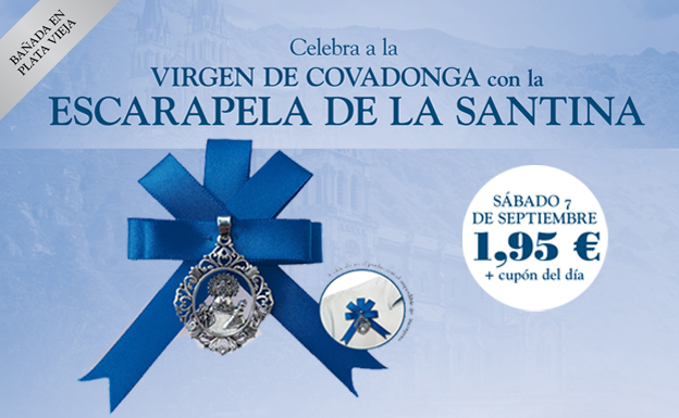 Celebra a la Virgen de Covadonga