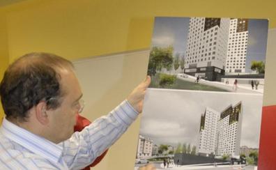El proyecto de las torres de San Lázaro, en el aire por la revisión del Plan General