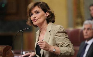 Carmen Calvo: «El Open Arms no pidió venir a puerto español en ningún momento»