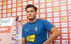 Cristian Salvador, preparado para la batalla