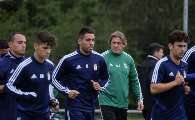 Real Oviedo | Egea recalca los roles en el equipo