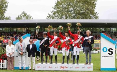 CSIO Gijón   Italia se corona triunfadora en la Copa de Naciones