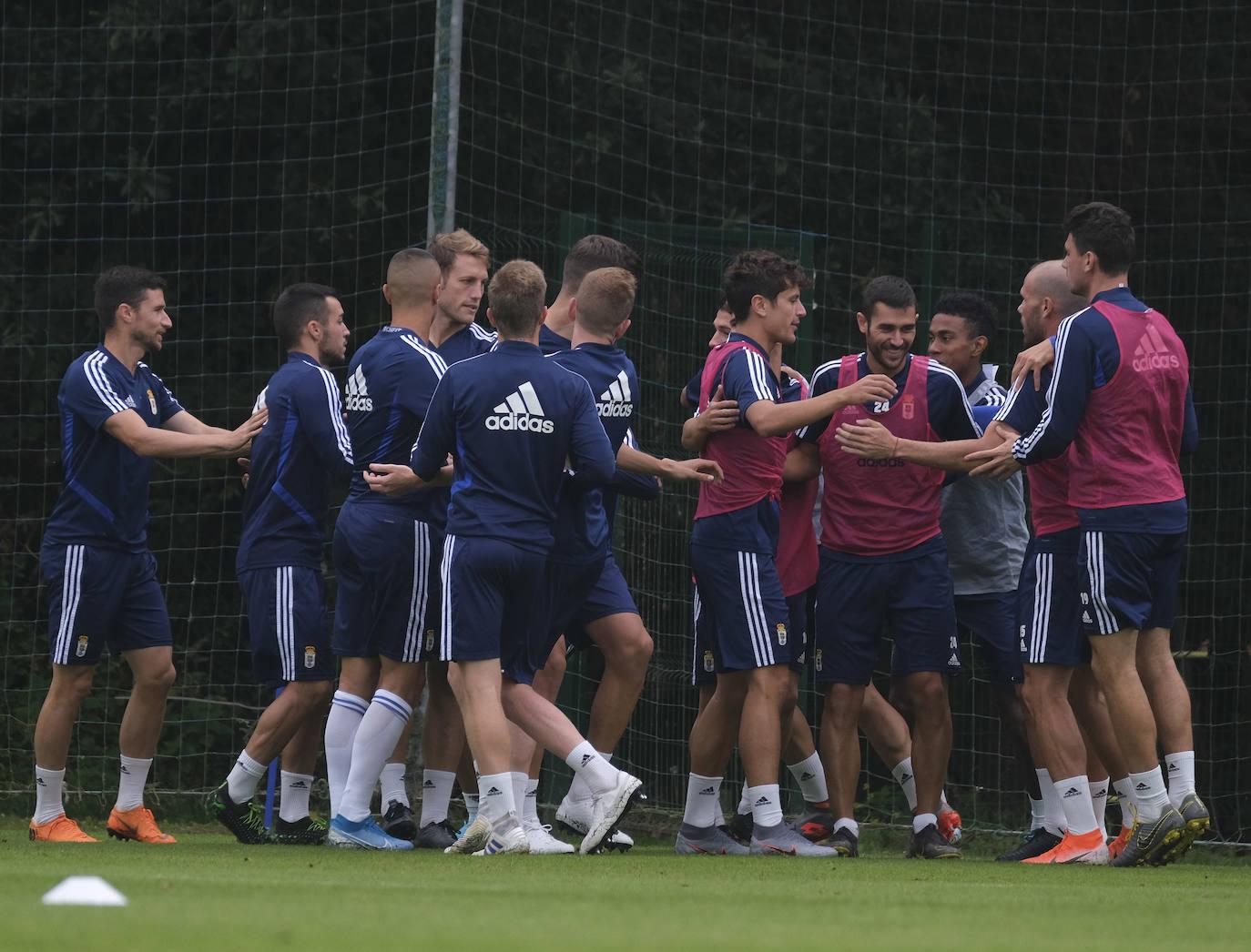 Entrenamiento del Real Oviedo (30/08/2019)