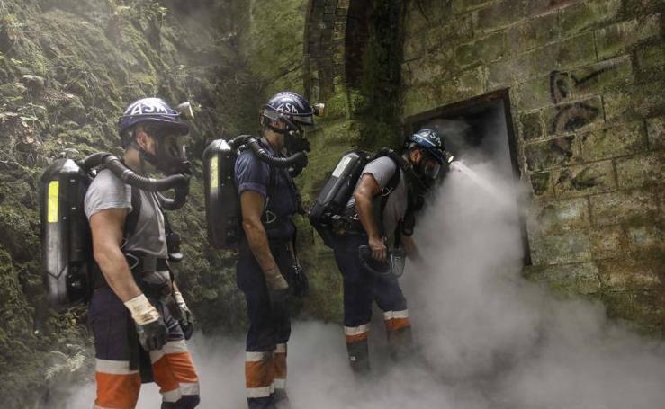 La Brigada Minera refuerza su plantilla para ampliar los rescates a todo el país