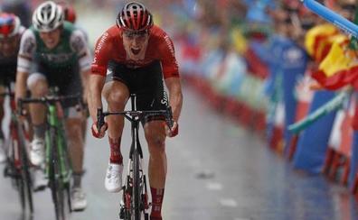 Nikias Arndt gana la 8ª etapa de la Vuelta, el francés Nicolas Edet nuevo líder