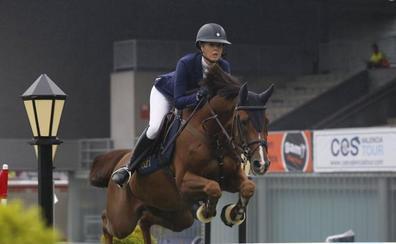 CSIO GIJÓN   «Hulahupe JR» de Ellen Whitaker el mejor caballo joven