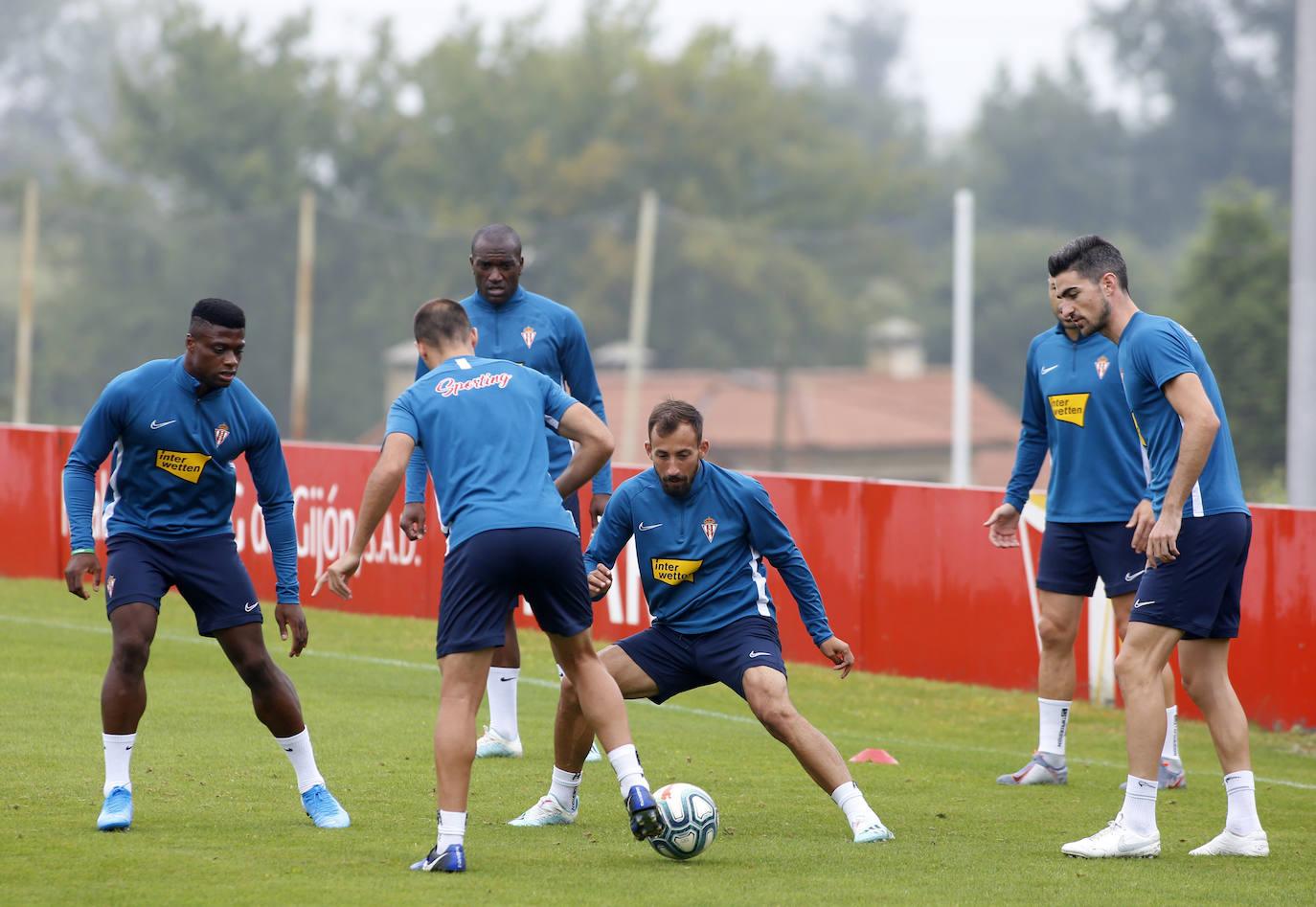 Entrenamiento del Sporting (31/08/2019)