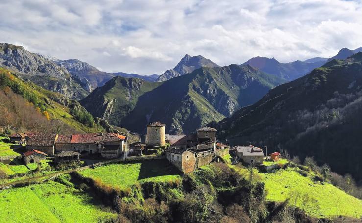 Candidatos al Pueblo Ejemplar de Asturias 2019