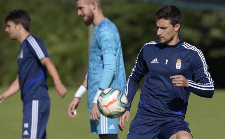 Entrenamiento del Real Oviedo (02-09-2019)