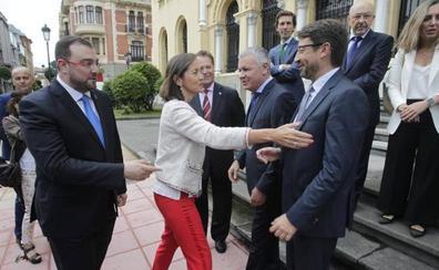 El Principado y los empresarios piden a Maroto un plan industrial para Asturias