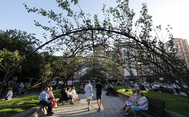 La estructura de la rosaleda de la Fábrica del Gas será renovada «por seguridad»
