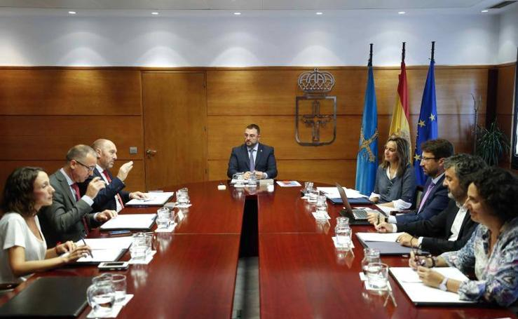 Estos son los nuevos altos cargos del gobierno asturiano
