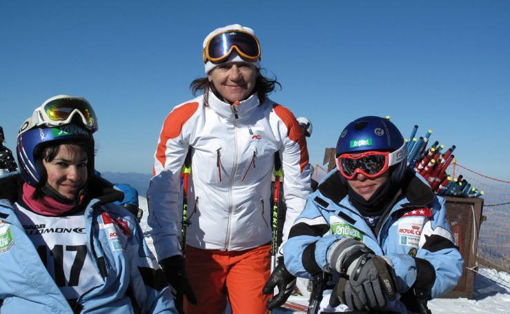 Blanca Fernández Ochoa, dentro y fuera de las pistas de esquí