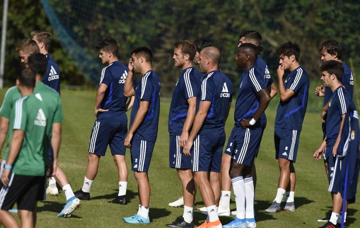 Entrenamiento del Real Oviedo (04-09-19)
