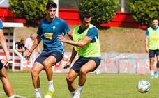 El Sporting vuelve a los entrenamientos con varias ausencias