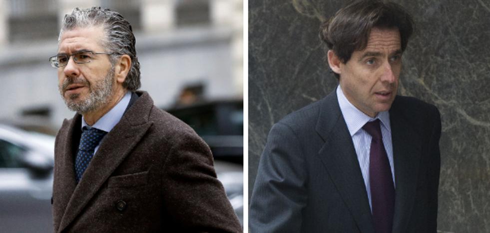 Granados y López Madrid se quedaron con medio millón de la 'caja B' del PP