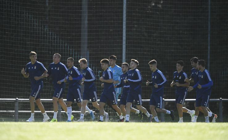 Entrenamiento del Real Oviedo 06/09/2019