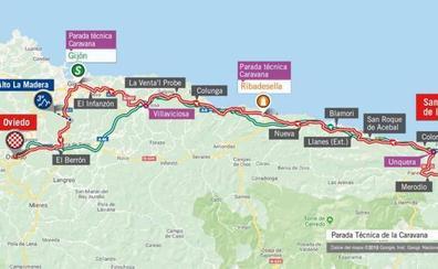 Cortes de tráfico en Gijón y Oviedo el sábado por la Vuelta Ciclista a España